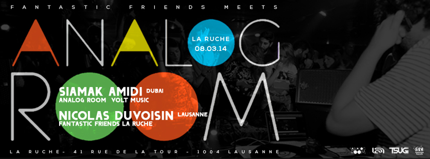 FANTASTIC FRIENDS PARTY! LA RUCHE 08.03.14