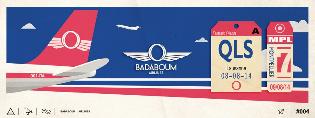Badaboom (Paris) Meet Fantastic Friends 08.08.14
