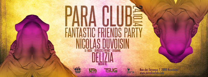 FANTASTIC FRIENDS PARTY! PARA CLUB 24.10.14