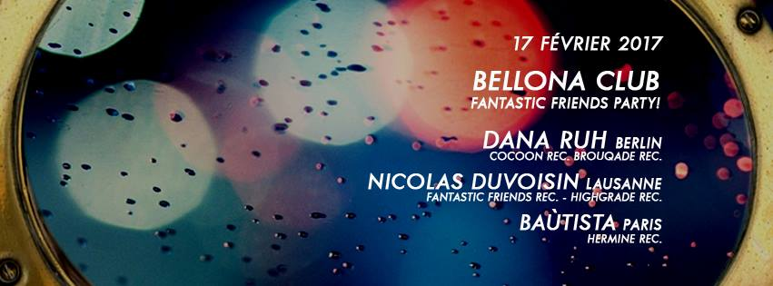 Fantastic Friends Party! Bellona (Lyon) 17.02.2017