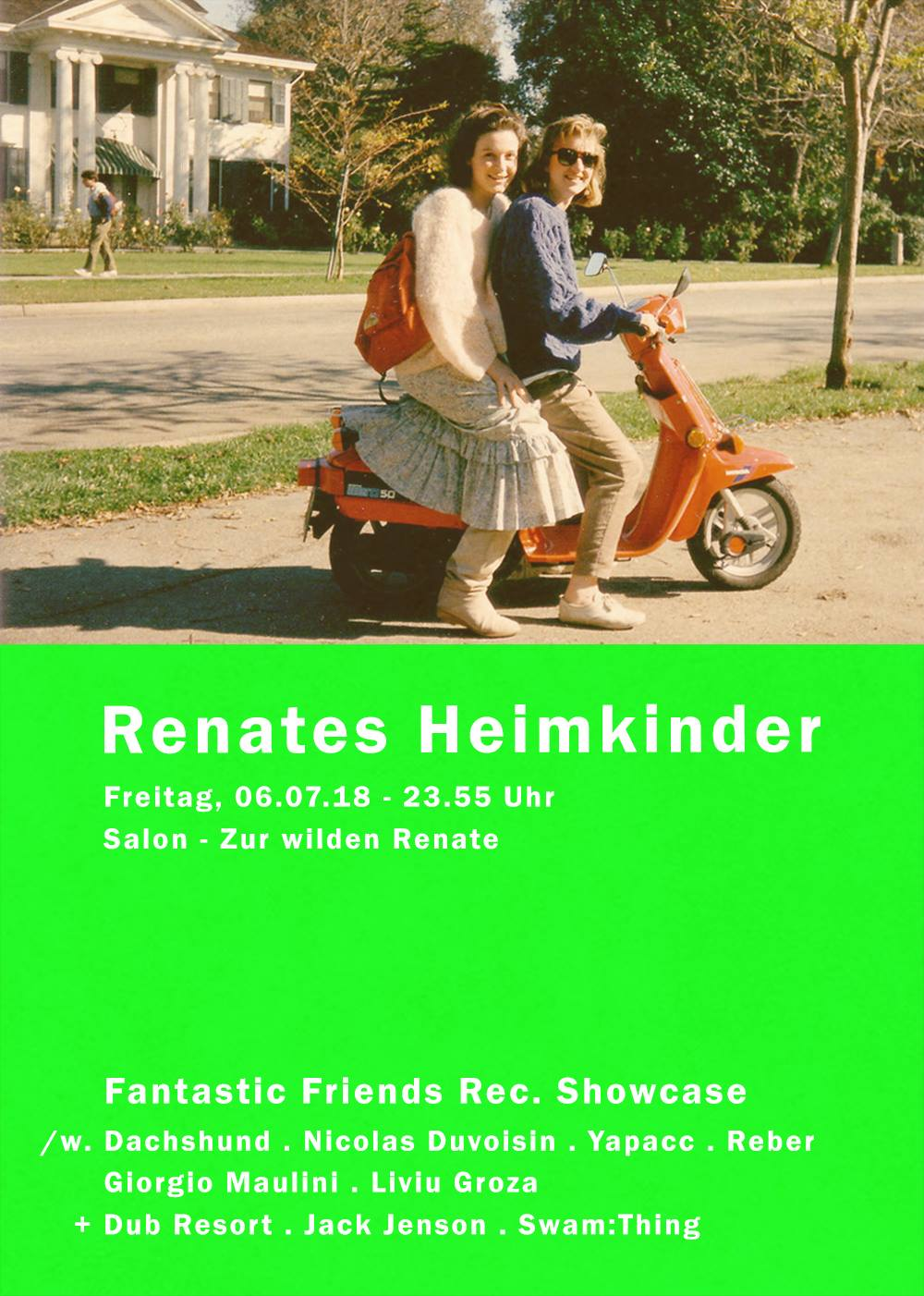 renates meet fantastic friends for a 12h dj of the label