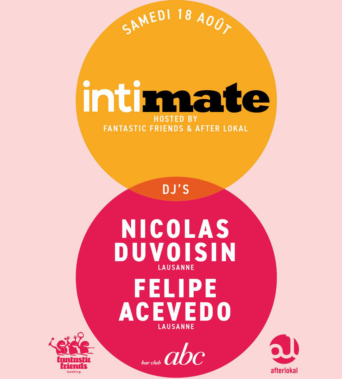 INTIMATE hosted by FFR ! 18.08.18