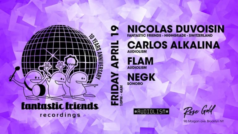 10 Years Fantastic Friends Tour at Rose Gold