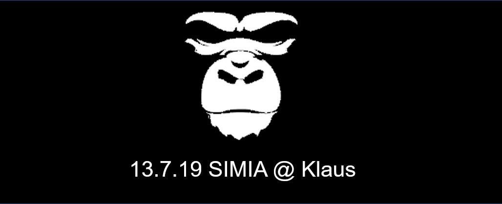 Simia im Klaus - 13.07.19