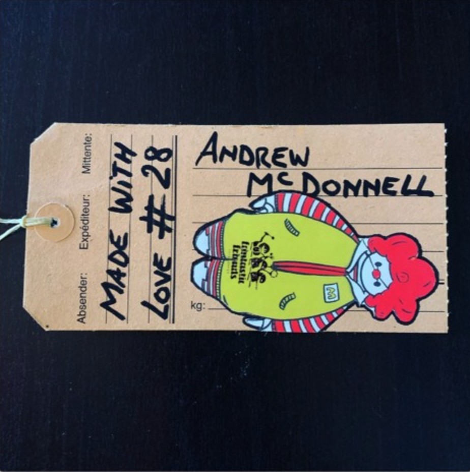 Andrew McDonnell - MADE WITH LOVE #28