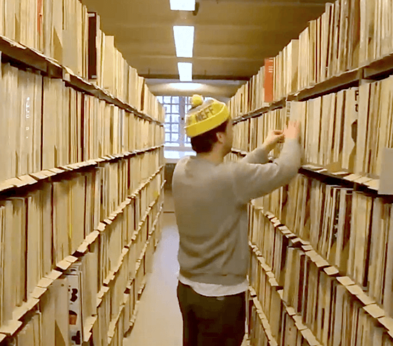 The vinyl archives of Berlin