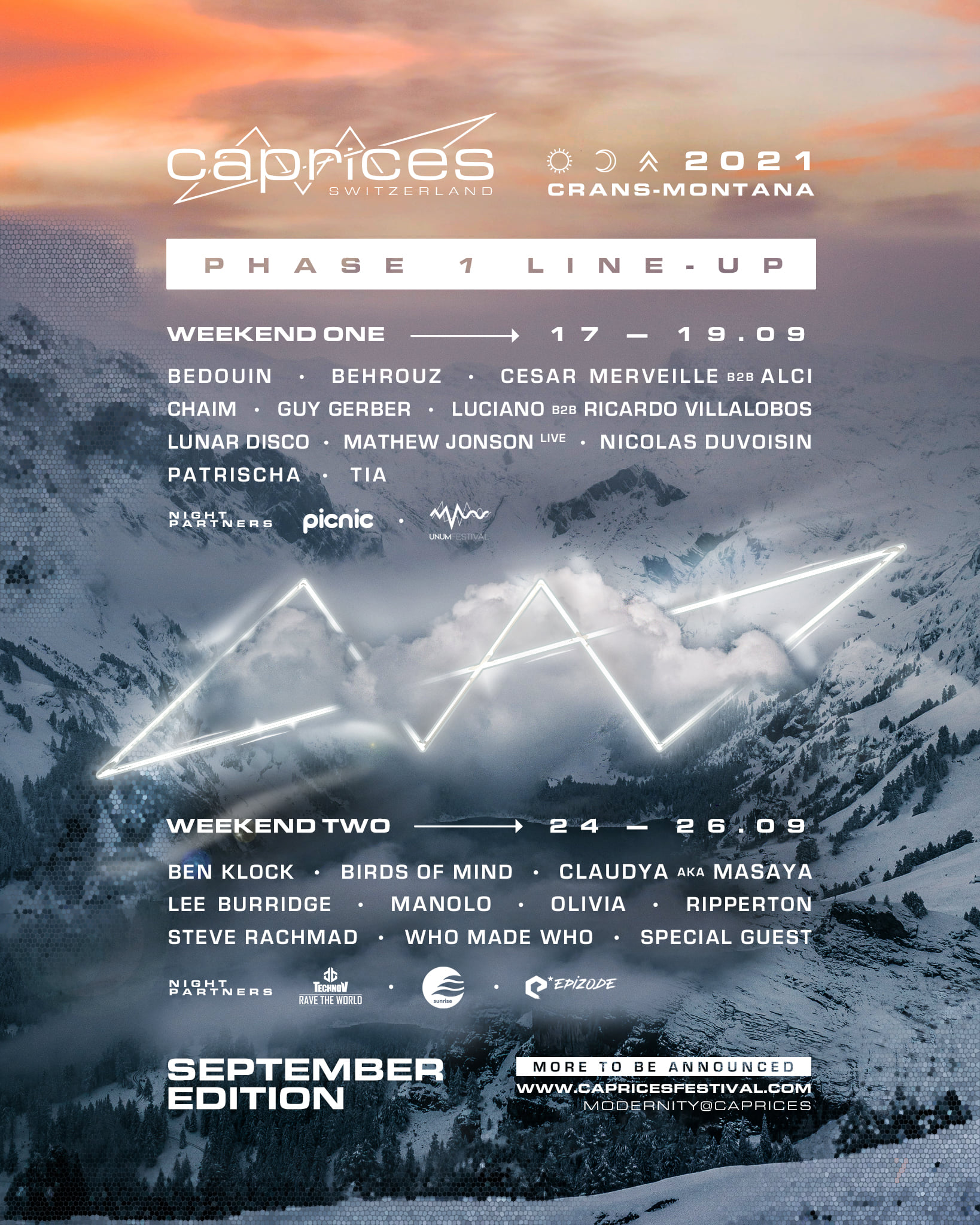 CAPRICES - SEPTEMBER 2021 EDITION